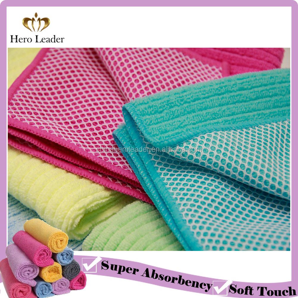 Best Selling Mesh Dish Cloth Microfiber Cleaning Cloth