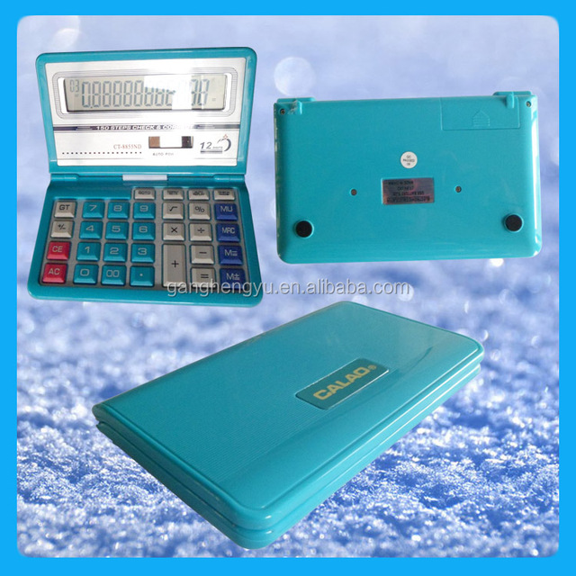12-digits electronic calculator & foldable calculator & big size desktop calculator