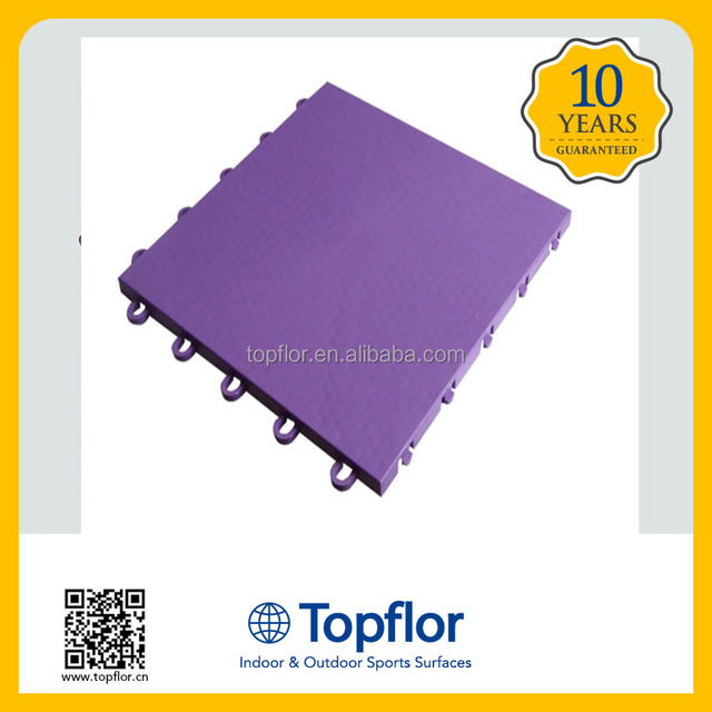 Toflor plastic basketball court material prices