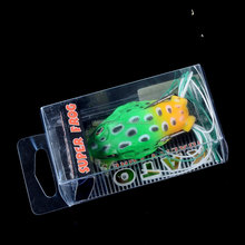 OEM In stock soft lure fishing lure soft artificial fishing frog