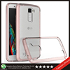 Samco Newly Listing Anti Scratch Hybrid Clear PC Back Cover + TPU Bumper Snap On Case for LG K10