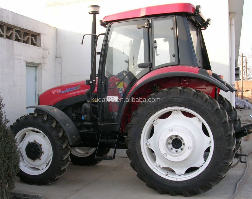 Chinese famous brand YTO-304 tractor with cab