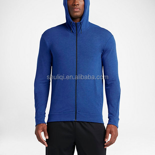 Fancy color lightweight sport hoodie 94/6 cotton/spandex fitness gym hoodie