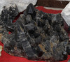 2014 High Quality Customize Pure NATURAL WHOLESALE Obsidian Rock Crystal Cluster For Sale