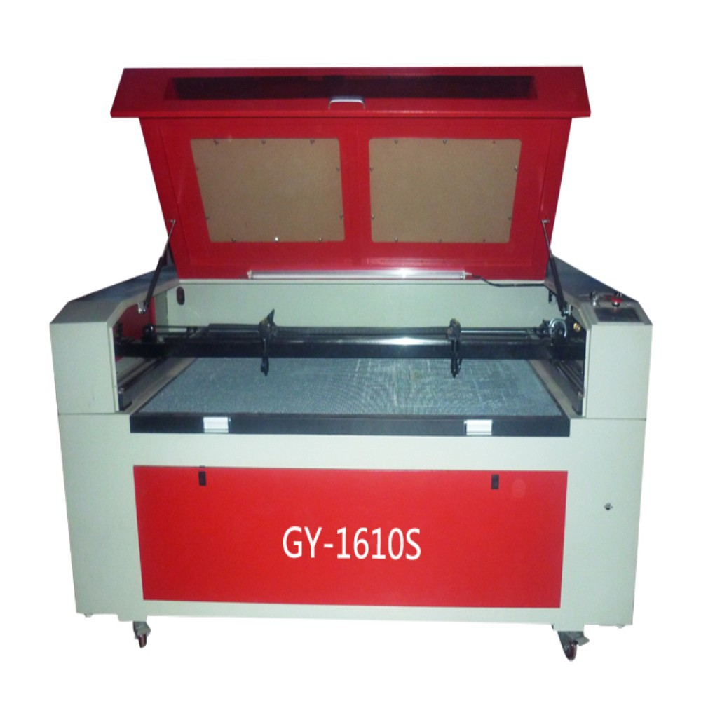 China factory supply GY1610 1600x1000mm Wool felt,Garment/Clothing,Leather,Stuffed toys textile laser cutting machine