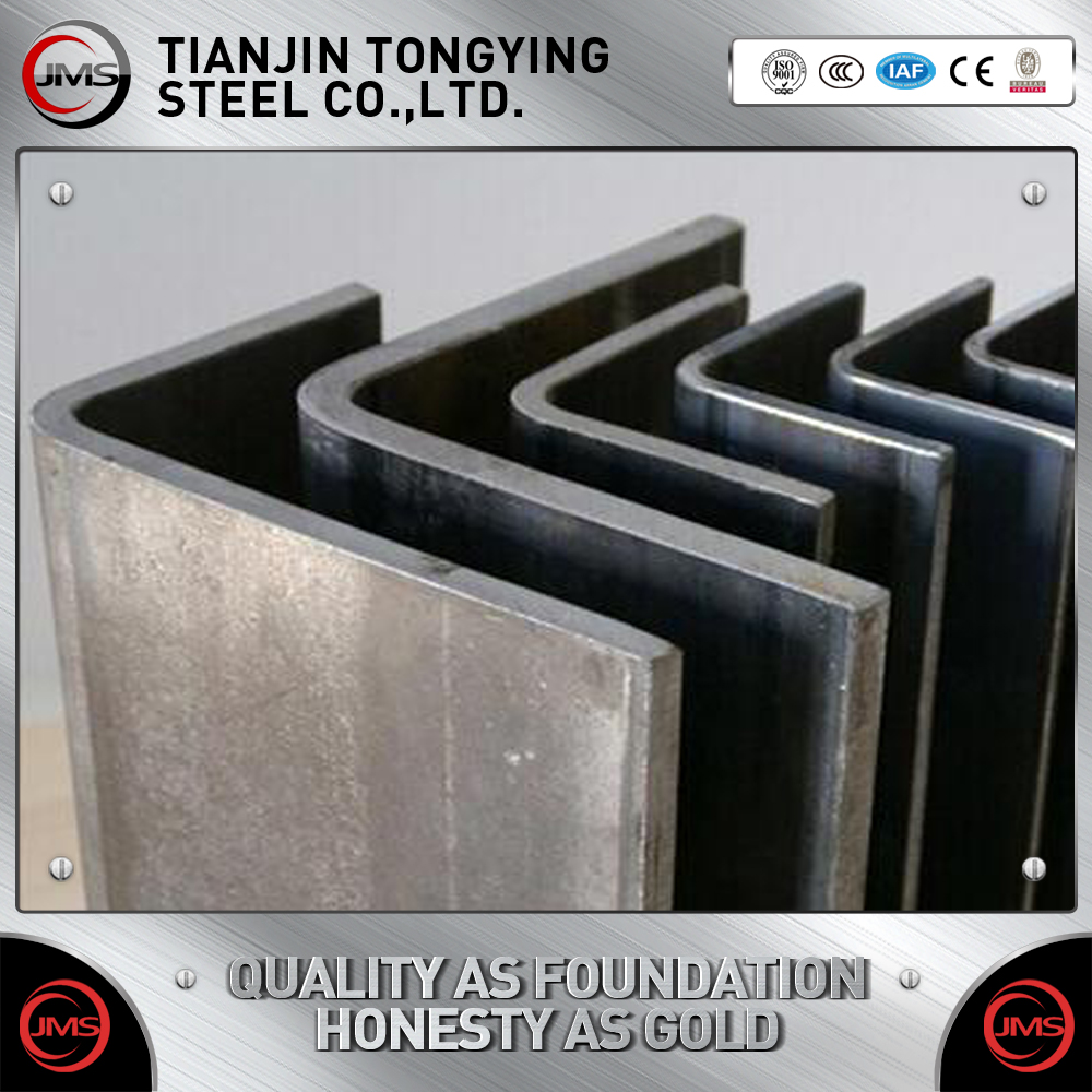 150*150 L shaped angle bar tensile strength of v shaped angle steel bar
