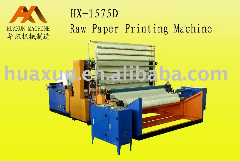 Quality Jumbo Roll Paper Printing Machine