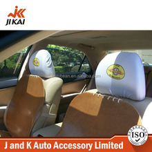 Universal headrest auto seats personalised pattern custom headrest covers for cars