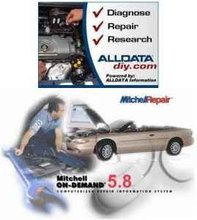 2011 AllData 10.20 and 2011 Mitchell On Demand 5.8 On 250G Portable Hard Drive with 4th Quarter Updates