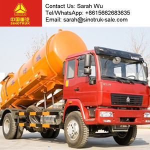 municipal equipment sewage suction tank truck for sale
