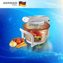 New Design Innovative Stainless Steel 12Litre 220V Auto function Kitchen Turbo Stock pot Halogen electric oven for office