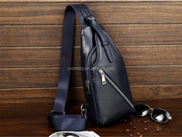 Z10639A Custom design artificial leather one shoulder strap casual bag for men made in China