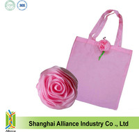 Advertising promotion Trendy flower Shape Foldable Shopping Bag gift giveaway