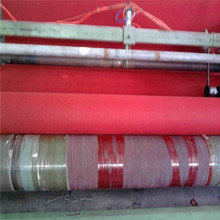Outdoor cheap the most popular polyester raw material red plain exhibition carpet