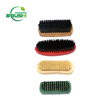 China factory hot sale wooden handle cleaning shoe brush