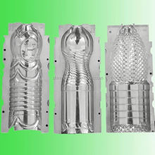 New coming pet bottle blow mold on blowing machine from China workshop