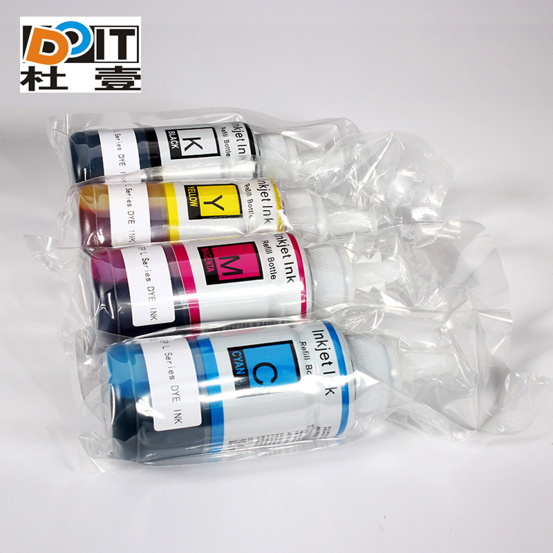 Universal Dye ink for Epson L series,original ink bottle for Epson L100 L200