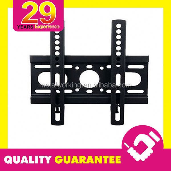 Custom Set-top Box TV Mount DVD Wall Bracket with Tempered Glass