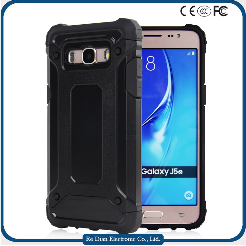 Wholesale creative shockproof Hard PC Strong Robust Protective cell phone case for samsung J5 2016
