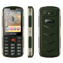 Setro SH8 GSM Dustproof Rugged Mobile Phone 3 inch Dual Sim Mobile Phone With Voice Changer
