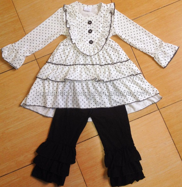 Baby Fall Boutique Outfits Smocked Children Clothing
