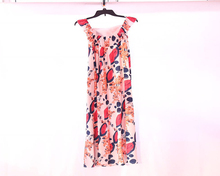Wholesale New design Ladies Chinese Traditional Sleeveless Summer Dress Printed Dresses Ladies Chiffon Causal Clothes