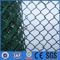 professional outdoors used pvc chain link fence for sale factory