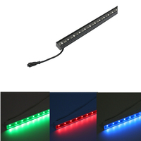 Outdoor building decoration programable digital video effect DC12/24V 12W RGBW IP65 dmx led light bar
