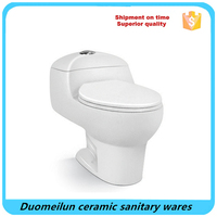 American standard modern one piece dual flush elongated bowl toilet & seat included