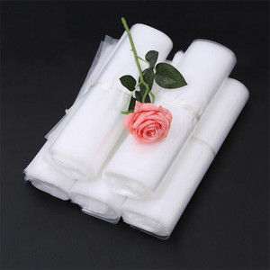 China factory provide clear transparency PE material plastic storage liner bag/ custom laundry bags/ plant growing bag