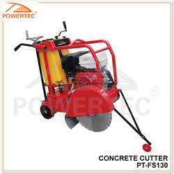 POWERTEC145mm road cutter machine,gasoline concrete cutter, concrete cutting machine
