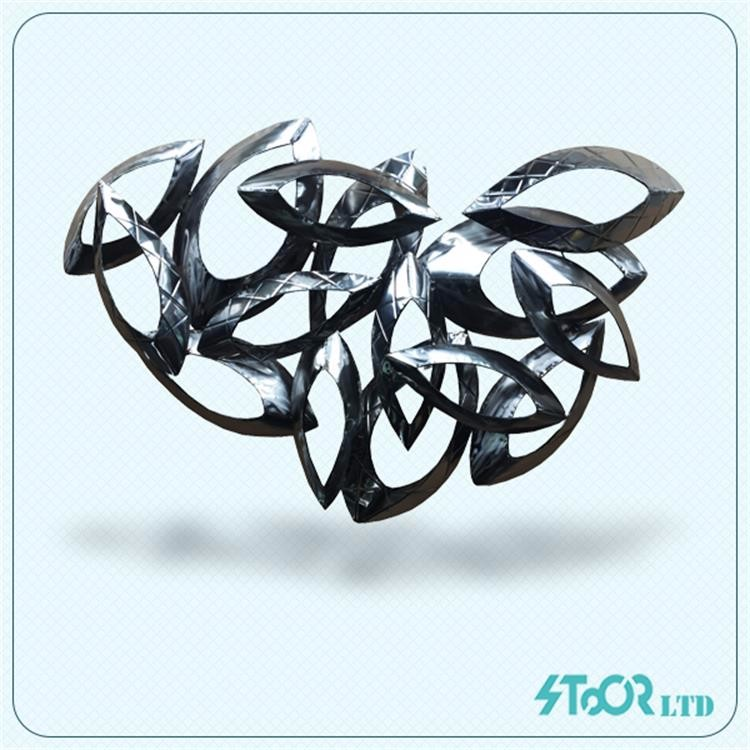 Wholesale Silver Iron Diy Modern Wall Decoration For Bedroom