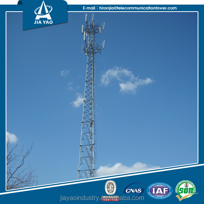 Corrosion resistant Professional manufacturer long distance radio communication tower
