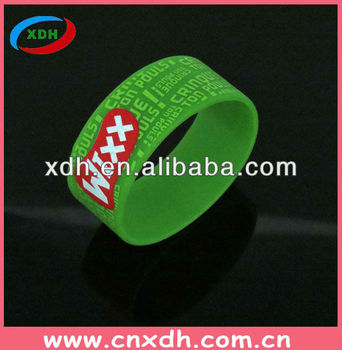 2014 Motivational Silicone Wristbands