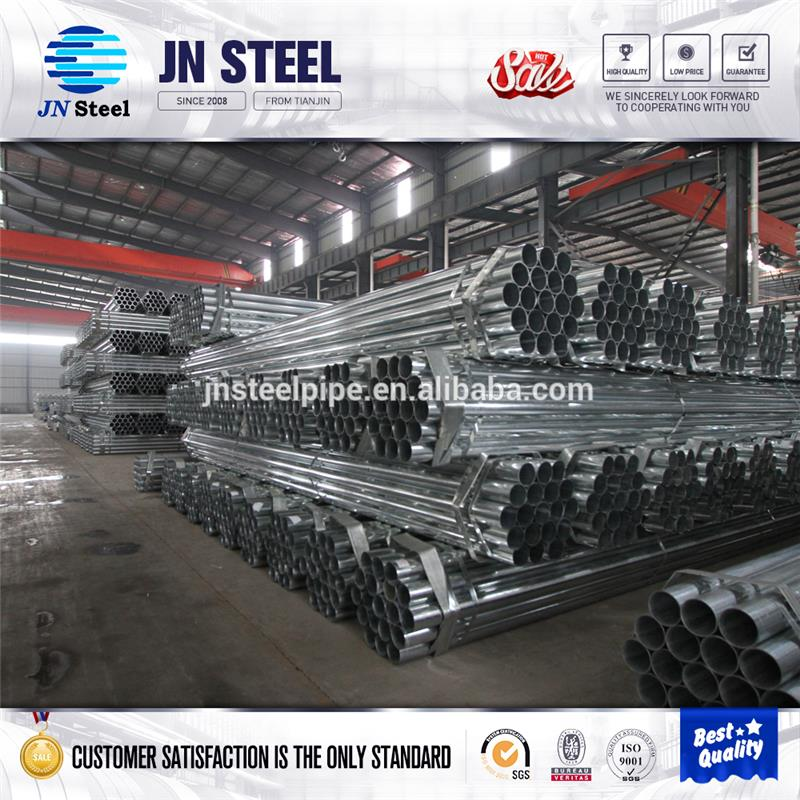 high preesure tube galvanized construction building materials pe/fbe coated steel pipe