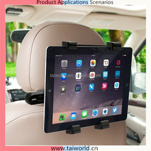 Universal 360 Degree Rotating Car Headrest Grip Tablet PC Mount Holder for all Tablets up to 10""