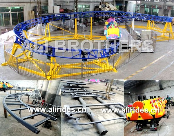 [Ali Brothers]mini roller coaster Twister Coaster for sale