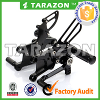 Tarazon made CNC aluminum alloy rear sets for street bike from China