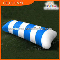 2014 hot inflatable water catapult blob,aqua slides,bounce mat for Summer relaxtion
