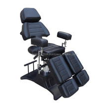 Cadeira Tatuador Multifunctional Professional Adjustable Silver Dragon Tattoo Chair
