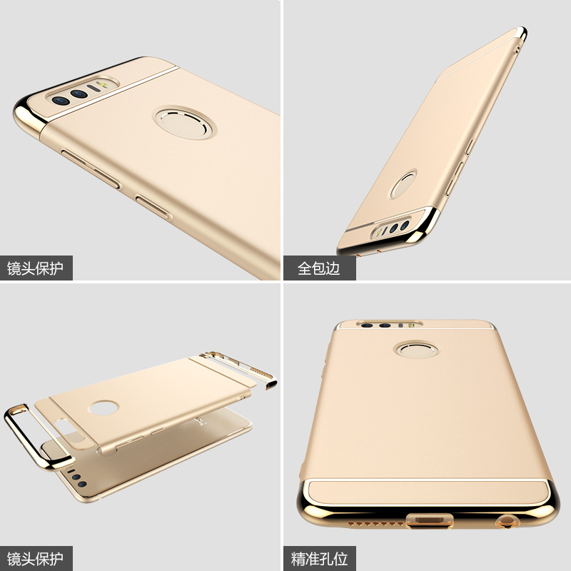 2017 newest Hybrid 3 in 1 360 case for Huawei honor 8