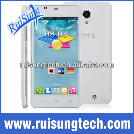 Original Thl T5 4.7inch QHD Screen MTK6572W Dual Core Mobile Phone 5.0MP 4G ROM Android 4.2.2 3G GPS Smartphone Dual Sim