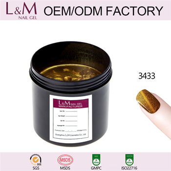 L&M OEM/ODM Factory Hot Sale Chameleon Cat Eye uv Nail Gel Polish