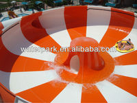 Adults' Play and Fun Fiberglass Water Slides