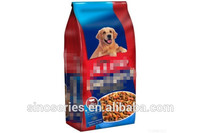 Stand up resealable plastic pet food bag/ dog food bag /cat litter bag