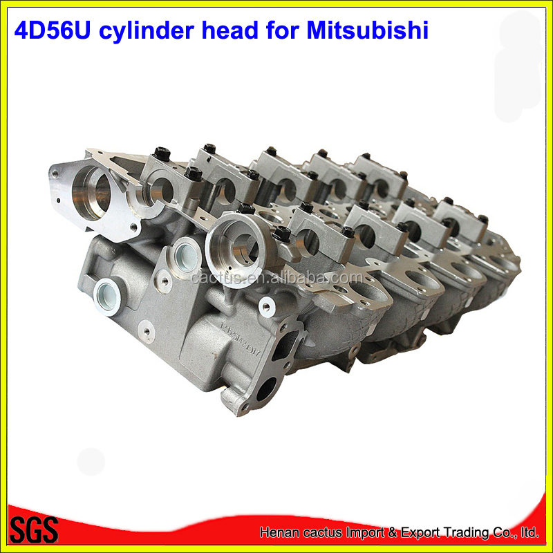 16V diesel engine <strong>parts</strong> 4D56U cylinder head for <strong>Mitsubishi</strong> <strong>L200</strong> Triton Strada Pajero sport