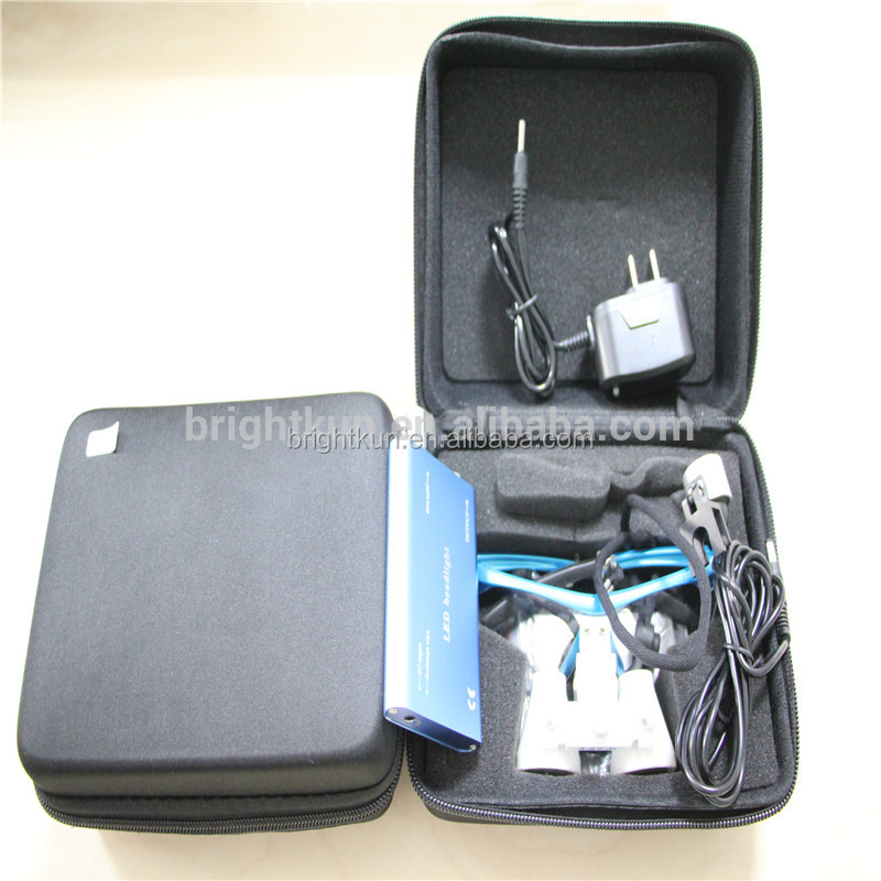 best portable 3.5x medical binocular led headlight dental surgical loupes