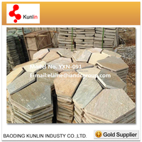 Natural Flag Stone For Garden / Walkway Paving Stone