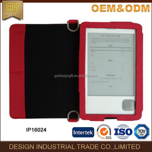Classic red fabric ebook reader 10inch cover ebok reader China