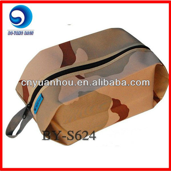 Camouflage 600D oxford dust covers shoe bags